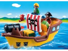 Spielspaß ahoi mit dem Piratenschiff von PLAYMOBIL 1.2.3