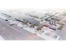 Terminalexpansion söder Götebort Landvetter Airport