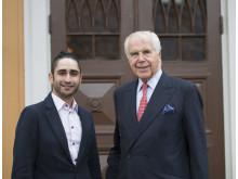 Allen Ali Mohammadi och Anders Wall