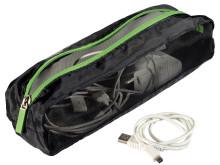 Smart Traveller väska - detalj löstagbar nätficka för tillbehör