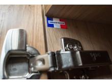 Kjøkkenmøblene er produsert i Frankrike