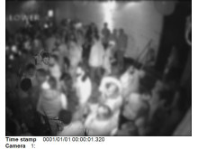CCTV of Collins inside the club