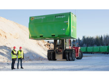 Green Cargo maximizes volume capacity for Söderenergi with new XXXL containers