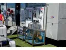Hi-res image - Fischer Panda UK - Fischer Panda UK's display trailer at Southampton Boat Show