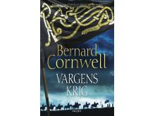 Högupplöst framsidesbild Vargens krig av Bernard Cornwell