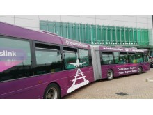 Luton Airport shuttle bus
