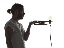 MÅNADENS FORMGIVARE: Ola Giertz, Clamp lamp