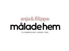 Målade hem – Anja, Filippa och Caparol Färg i inspirerande samarbete (logotyp)