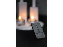 Premium LED antik- och värmeljus, fjärrkontroll