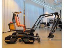 Volvo GaiaX - ett eldrivet minigrävarkoncept för framtiden