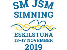Logga SM i simning 2019