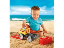 Mit PLAYMOBIL Sand kommt Verstärkung für alle kleinen und großen Bauprojekte!