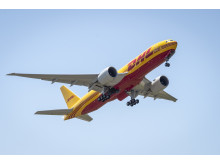 Helt nytt Boeing 777 Freighter-fly utvider DHLs interkontinentale flyflåte