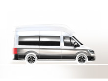 Crafter camping bus