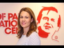 Kriminalisera storskalig miljöförstörelse, Anna Sundström, Palmecentret. Foto Ylva Säfvelin,Aibild