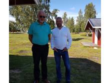 Tom Tiller och Leif Lahti
