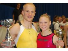 Björn Slånvall och Maria Edner