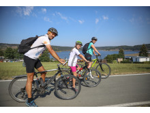 Radfahren am Thüringer Meer 2