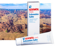 GEHWOL med Schrunden-Salbe: Canyons in der Haut