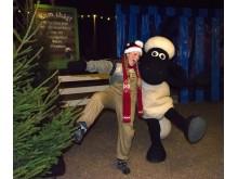 Jul på Fåret Shaun Land