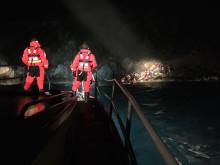 36 personer undsätts från klippa