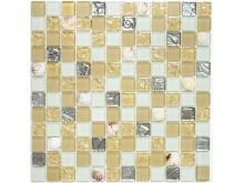 Mosaik Eventyr Den Lille havfrue Sand 30x30,  1.298 kr. M2.