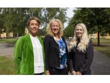 Högskolans forskare Pernestig, Enroth och Tilevik