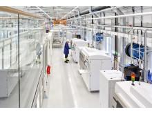 Siemens unika verkstad för additiv tillverkning, 3D-printning, i Finspång