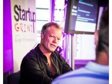 """Fredrik """"Feffe"""" Andersson på Startup Grind Almedalen 2015-07-02"""