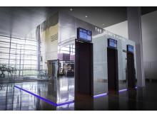 The Climate Portal at Stockholm Arlanda Airport