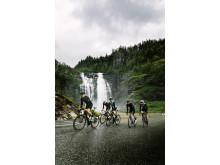 Radrennen in Fjordnorwegen: Immer vor großer Naturkulisse