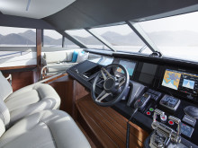 High res image - Princess Motor Yacht Sales - Princess 75 interior helm