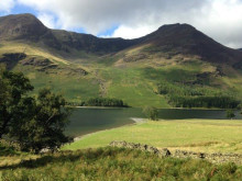 Stunning Lakeland fells and lakes