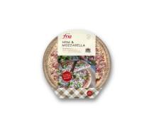 Ham and mozzarella
