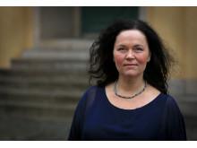 Britta Nordin Forsberg, industridoktorand vid avdelningen för organisation och ledning vid KTH. Foto: Peter Ardell.