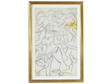 "Willem de Kooning: ""Untitled"", c. 1972-1974. Sold for DKK 1.5 million (EUR 260,000 including buyer's premium)."