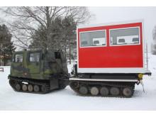 Scandinavian Terrain Vehicles AB bygger bandvagnar för tjänstgöring på Grönland