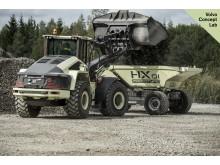Volvo LX1 hybridhjullastare lastar HX1 lastbärare - bild 1
