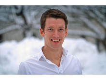 Niclas Roxhed, universitetslektor på avdelningen mikro- och nanosystem på KTH. Foto: Peter Ardell.