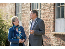 Ghita Parry og Ole Lund Jensen, FTF-A's formandskab
