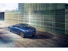 Lexus LC 500 kommer i blåare än blått