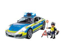 Für authentische Polizei-Einsätze: Der Porsche Carrera 4S Polizei