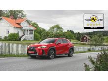 Lexus UX EuroNCAP 5 stars 04 16x9