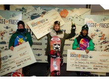 Pallen, Burton High Fives, World Snowboard Tour