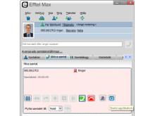 Koppling till extern applikation i Efftel Max Softphone