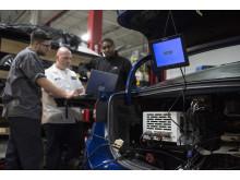 Nästa generations självkörande Ford Fusion.
