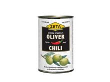Zeta fyllda spanska oliver med chili