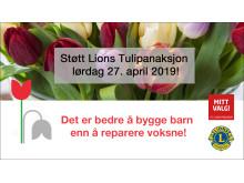 Lions Tulipanaksjon 2019