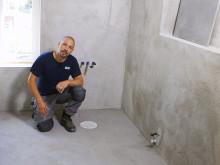 Björn bygger bo - Badrum 2