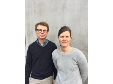 Agne Swerin och Mimmi Eriksson.